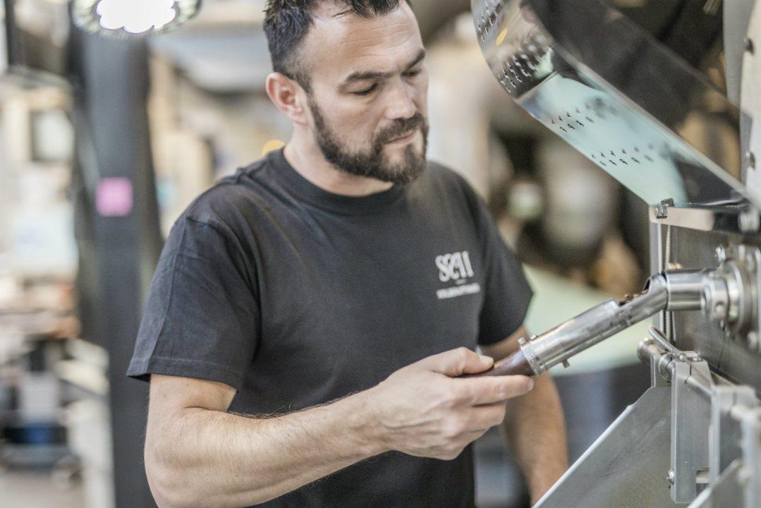 Simo Kristidhi fra Solberg & Hansen er norgesmester i kaffebrenning